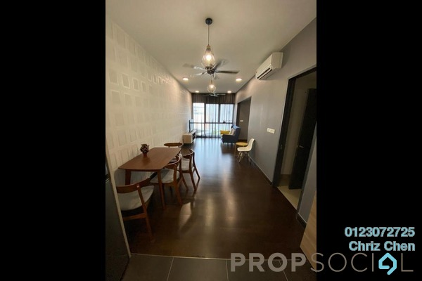 For Rent Condominium at V Residence @ Sunway Velocity, Cheras Freehold Fully Furnished 2R/1B 2.5k