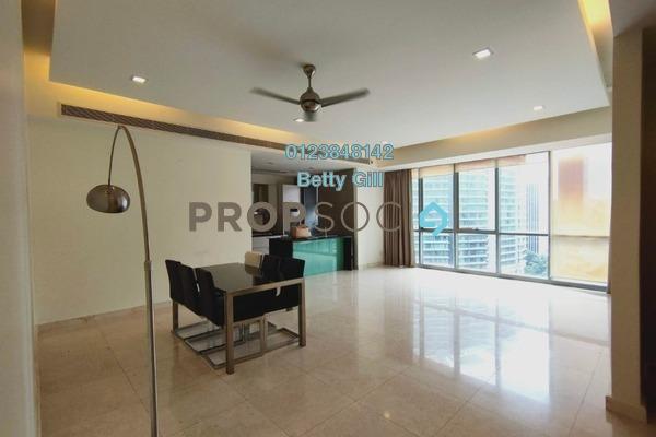 For Rent Condominium at The Meritz, KLCC Freehold Semi Furnished 2R/2B 4k