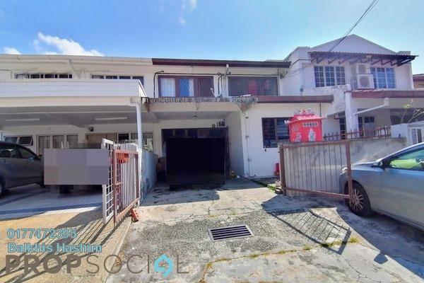 Terrace For Sale in Taman Melawati, Kuala Lumpur Freehold Semi Furnished 3R/3B 830k