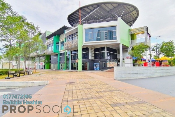 Shop For Sale in D'Vida, Bukit Jelutong Freehold Semi Furnished 1R/2B 1.5m