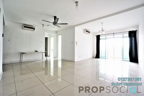Serviced Residence For Sale in Kiara Residence, Bukit Jalil Leasehold Semi Furnished 3R/3B 550k