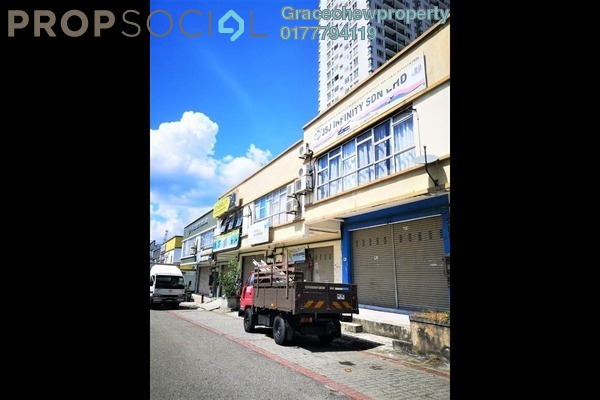 Shop For Rent in Taman Megah Ria, Pasir Gudang Freehold Unfurnished 0R/0B 3.5k