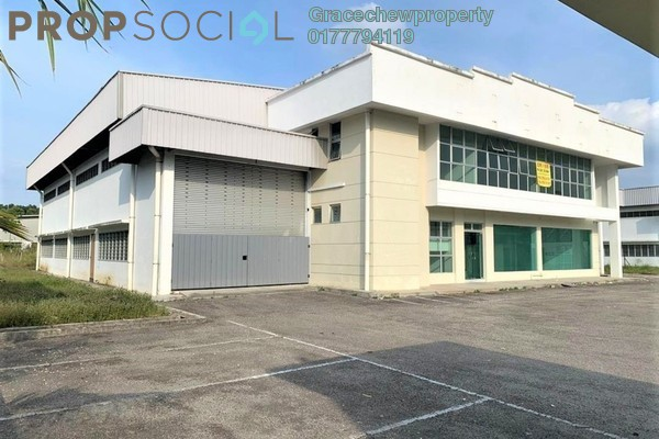 Factory For Rent in Taman Industri Jaya, Skudai Freehold Unfurnished 0R/0B 15k
