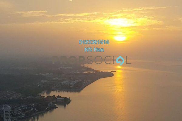 Serviced Residence For Sale in Silverscape @ Hatten City, Bandar Melaka Leasehold Fully Furnished 2R/2B 600k