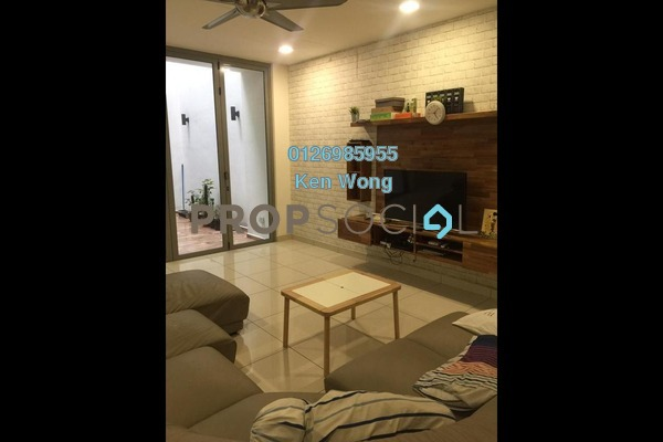 Terrace For Sale in Laman Bayu, Bukit Jalil Freehold Fully Furnished 4R/5B 1.45m