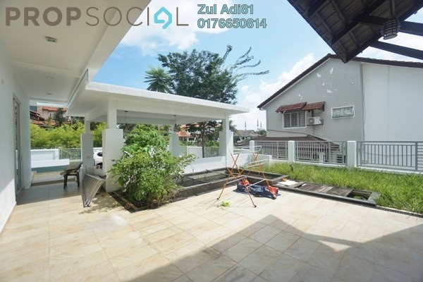 Bungalow For Rent in Section 9, Shah Alam Freehold Unfurnished 5R/5B 7k