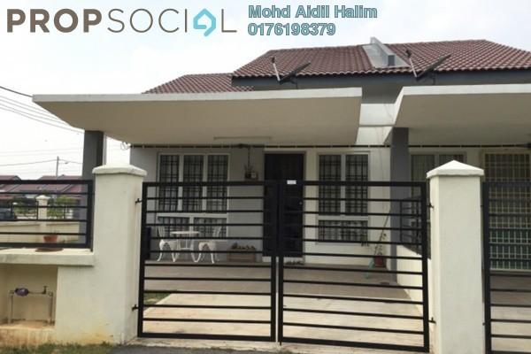 Terrace For Rent in Kota Warisan, Sepang Freehold Fully Furnished 3R/2B 1.8k