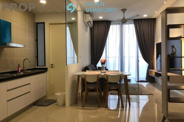 For Rent Condominium at D'Pristine, Medini Freehold Fully Furnished 2R/2B 1.5k