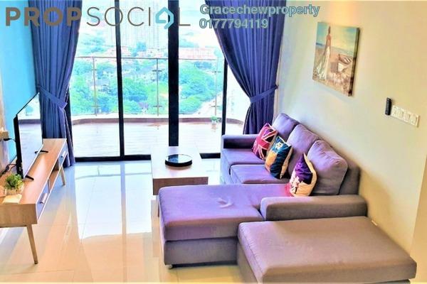 Condominium For Rent in Country Garden Danga Bay, Danga Bay Freehold Fully Furnished 2R/1B 1.7k