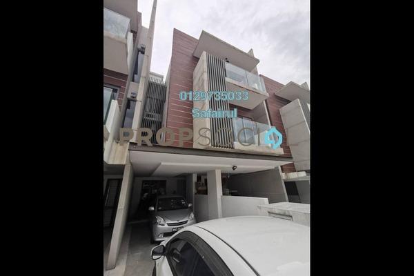 Townhouse For Sale in The Vale II @ Sutera Damansara, Damansara Damai Freehold Semi Furnished 3R/4B 900k
