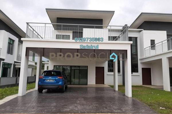 Semi-Detached For Rent in Perdana Lakeview East, Cyberjaya Freehold Unfurnished 5R/6B 3.5k