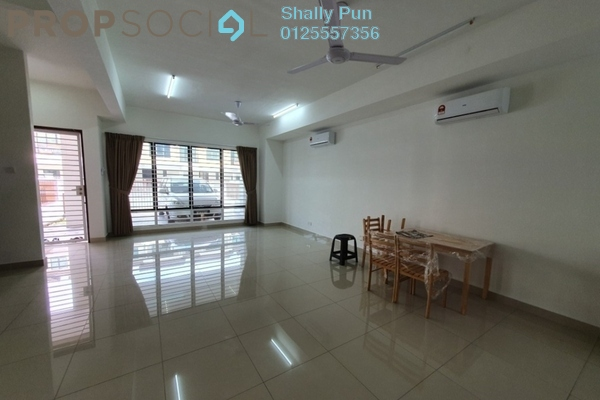 Terrace For Rent in Lakeside Residences, Puchong Freehold Unfurnished 4R/3B 2k