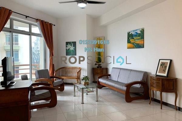 Condominium For Sale in Ocean Palms Condominium, Melaka Freehold Fully Furnished 2R/2B 340k