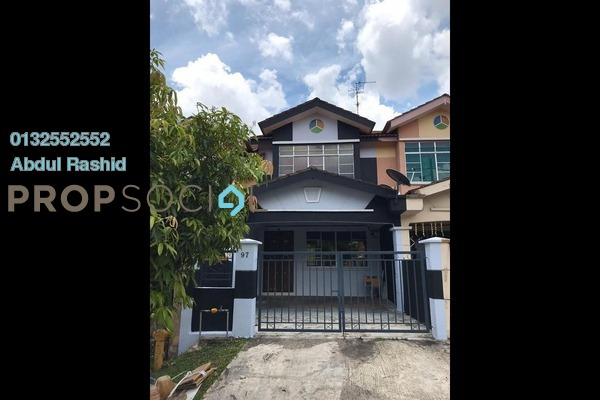 Terrace For Rent in Taman Scientex, Pasir Gudang Freehold Fully Furnished 3R/2B 1k