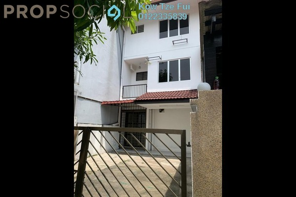 Terrace For Rent in Taman Dagang, Ampang Freehold Unfurnished 4R/3B 1.6k