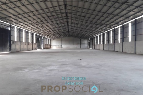 For Rent Factory at Jenjarom, Selangor Freehold Unfurnished 0R/0B 113k
