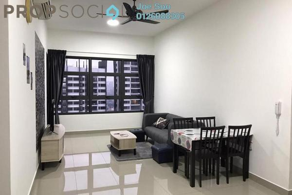 Condominium For Rent in Lakeville Residence, Jalan Ipoh Freehold Semi Furnished 3R/2B 2k