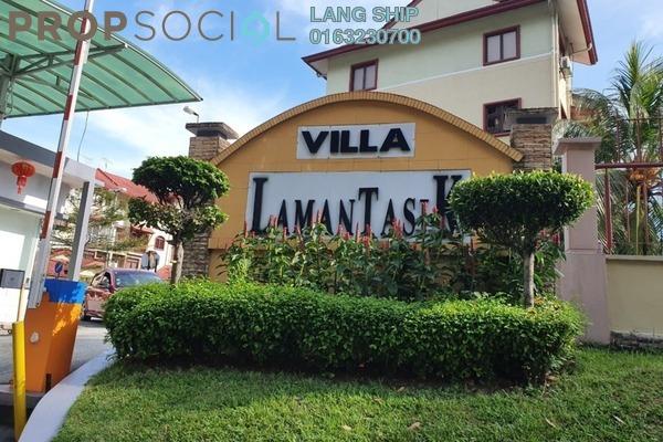 Townhouse For Sale in Villa Laman Tasik, Bandar Sri Permaisuri Freehold Semi Furnished 4R/3B 600k