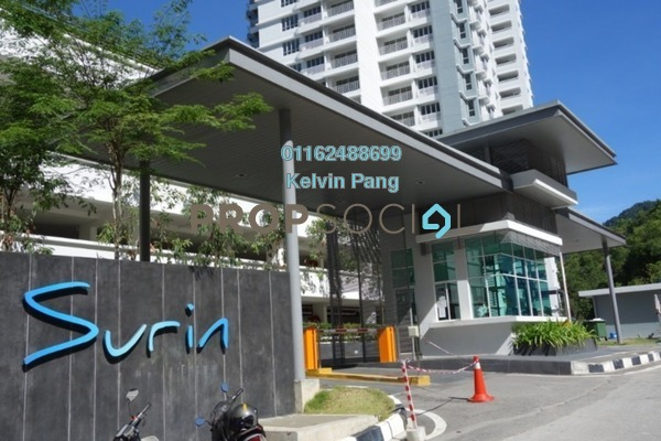 Condominium For Sale in Surin, Tanjung Bungah Freehold Unfurnished 3R/2B 750k