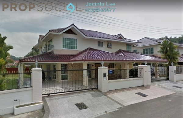 For Sale Semi-Detached at Taman Golfview, Kota Kinabalu Freehold Semi Furnished 6R/4B 841k