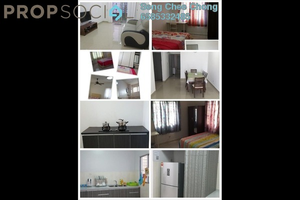 Condominium For Rent in Kinrara Mas, Bukit Jalil Freehold Fully Furnished 3R/2B 1.75k