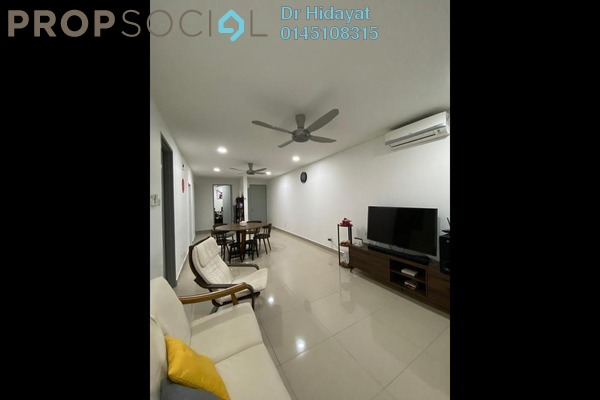 Serviced Residence For Sale in Suasana Lumayan, Bandar Sri Permaisuri Leasehold Fully Furnished 3R/2B 520k