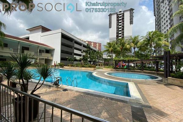 Condominium For Sale in Bayu Tasik 2, Bandar Sri Permaisuri Freehold Semi Furnished 3R/2B 460k