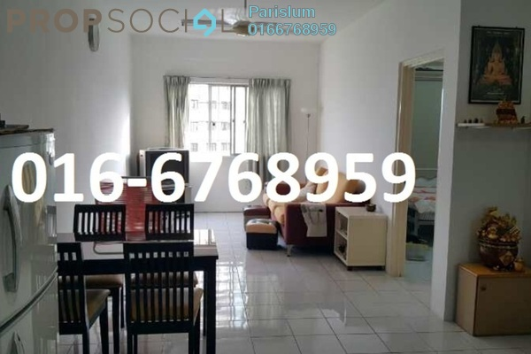 Apartment For Sale in Cemara Apartment, Bandar Sri Permaisuri Freehold Unfurnished 3R/2B 315k