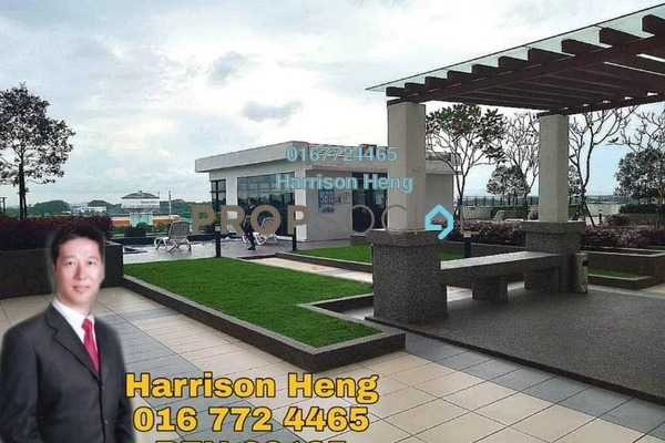 Serviced Residence For Sale in D'Summit Residences, Skudai Freehold fully_furnished 1R/1B 258k