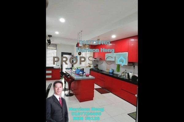 Terrace For Sale in Jalan Setia Tropika, Setia Tropika Freehold semi_furnished 4R/4B 650k