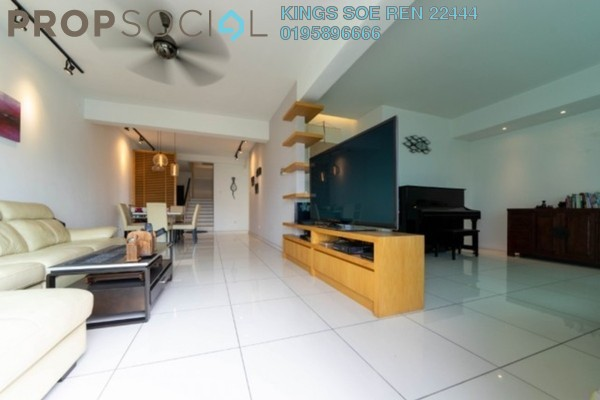 Duplex For Sale in Rosvilla, Segambut Freehold Fully Furnished 5R/4B 1.23m