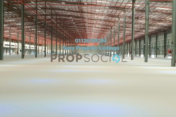 Factory For Rent in Aeropolis (former LCCT), Sepang Freehold Unfurnished 0R/0B 98k