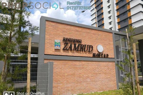 Condominium For Rent in Zamrud Residensi, Kajang Freehold Semi Furnished 3R/2B 1.5k