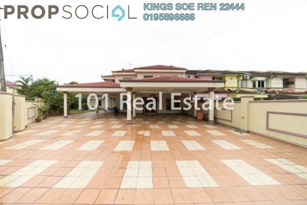 Terrace For Sale in Kampung Jawa, Segamat Freehold Semi Furnished 7R/5B 1.3m