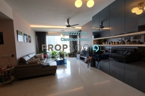 Condominium For Sale in Verticas Residensi, Bukit Ceylon Freehold Fully Furnished 3R/4B 1.85m