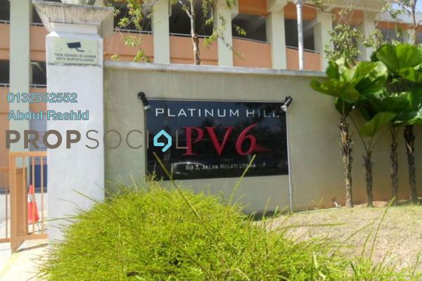 Condominium For Sale in Platinum Hill PV6, Setapak Freehold Semi Furnished 4R/2B 430k