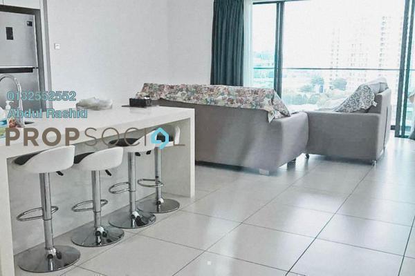 Condominium For Sale in Cristal Residence, Cyberjaya Freehold Semi Furnished 3R/2B 580k