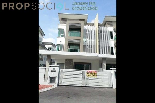 Terrace For Sale in Ridgewood @ Taman Bercham Permai, Ipoh Freehold Unfurnished 6R/5B 700k