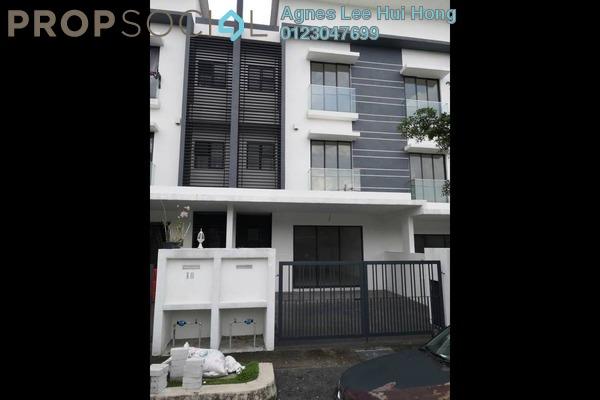 For Rent Terrace at Sentul Pasar, Kuala Lumpur Freehold Unfurnished 5R/5B 2k