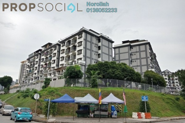 For Sale Condominium at Sri Kinabalu, Wangsa Maju Freehold Unfurnished 4R/2B 405k