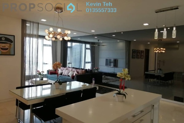 For Rent Condominium at Kiara 9, Mont Kiara Freehold Fully Furnished 3R/3B 5k