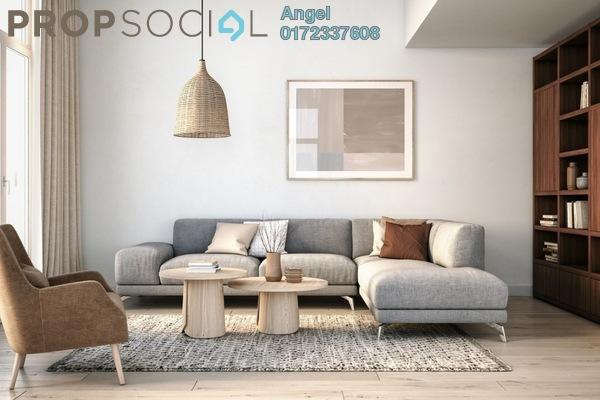 Condominium For Sale in Vista Sentul, Sentul Freehold Semi Furnished 3R/2B 340k