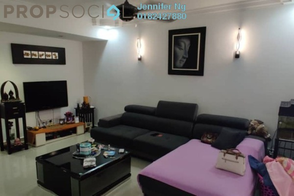 Terrace For Sale in SS19, Subang Jaya Freehold Semi Furnished 2R/2B 405k