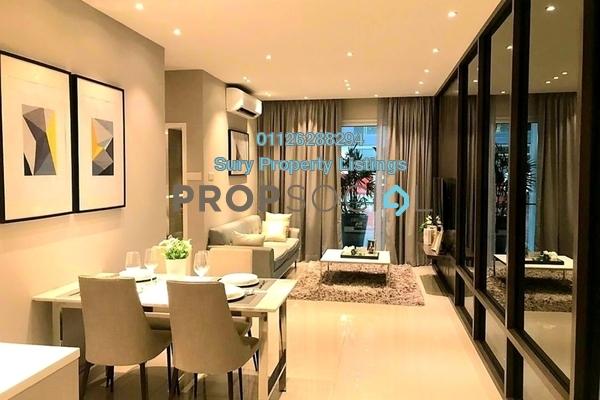 For Sale Condominium at Sentul Point, Sentul Freehold Unfurnished 2R/2B 380k
