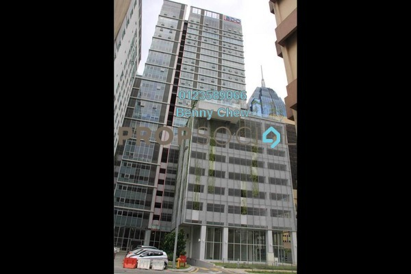 Office For Sale in Menara Centara, Chow Kit Freehold Semi Furnished 0R/0B 638k