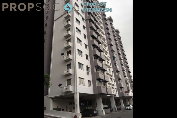 Apartment For Rent in Jalil Damai, Bukit Jalil Freehold semi_furnished 3R/2B 1.2k