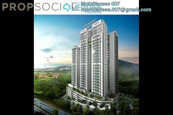 Condominium For Rent in Meridien Residence, Sungai Ara Freehold Fully Furnished 3R/2B 1.8k