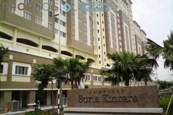 For Rent Apartment at Suria Kinrara, Bandar Kinrara Leasehold Semi Furnished 3R/2B 1k