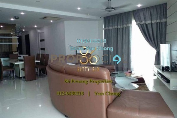 For Sale Condominium at Gurney Paragon, Gurney Drive Freehold Fully Furnished 3R/3B 3.4m