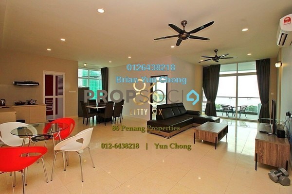 Condominium For Sale in H Residence, Gurney Drive Freehold Fully Furnished 5R/4B 2.5m